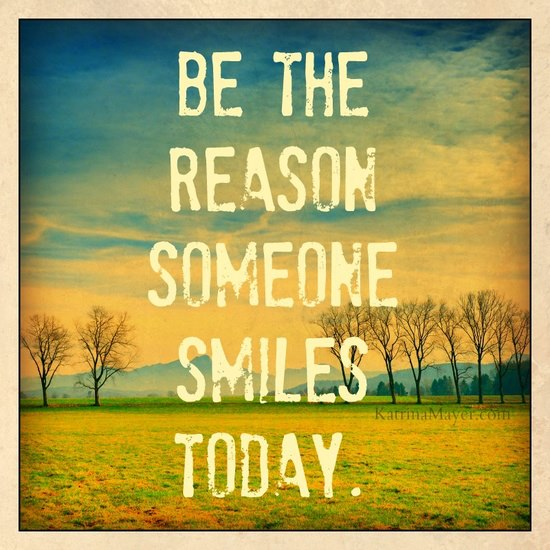 Smiles - be the reason